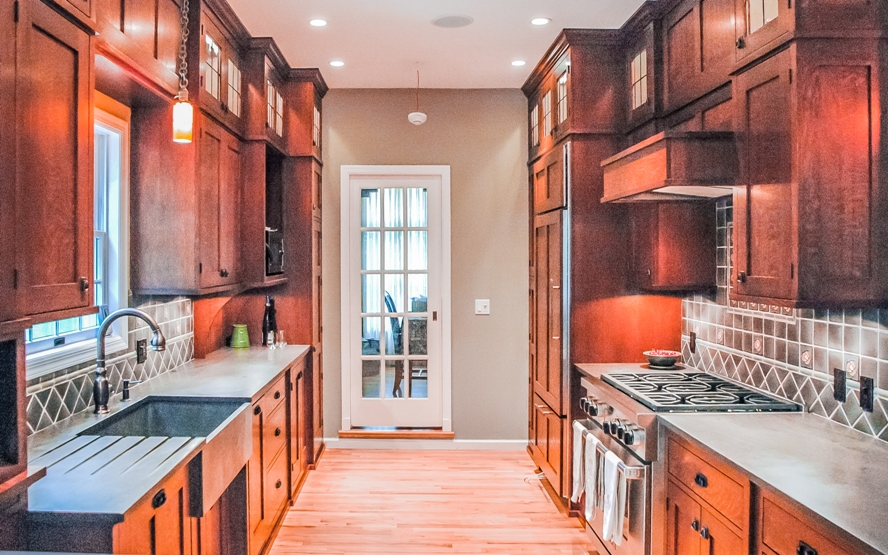 Westchester mission style custom design kitchen cabinetry
