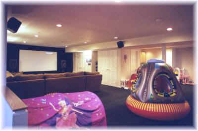 Home Theatre area