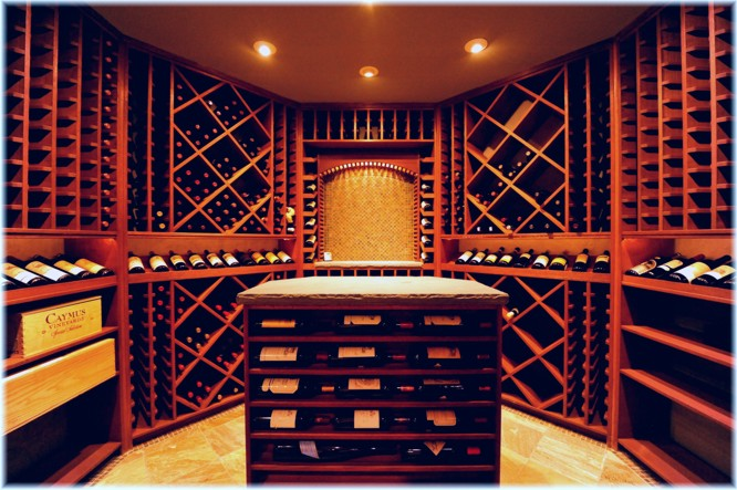 Custom zero energy basement wine cellar design ideas pictures, Westchester NY
