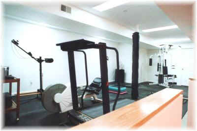 Exercise room [temporary photo]
