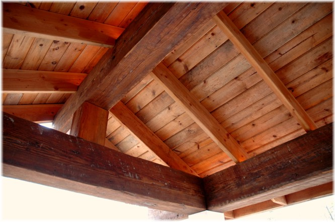 reclaimed, recycled, re-used structural rafters, beams, mantels ...