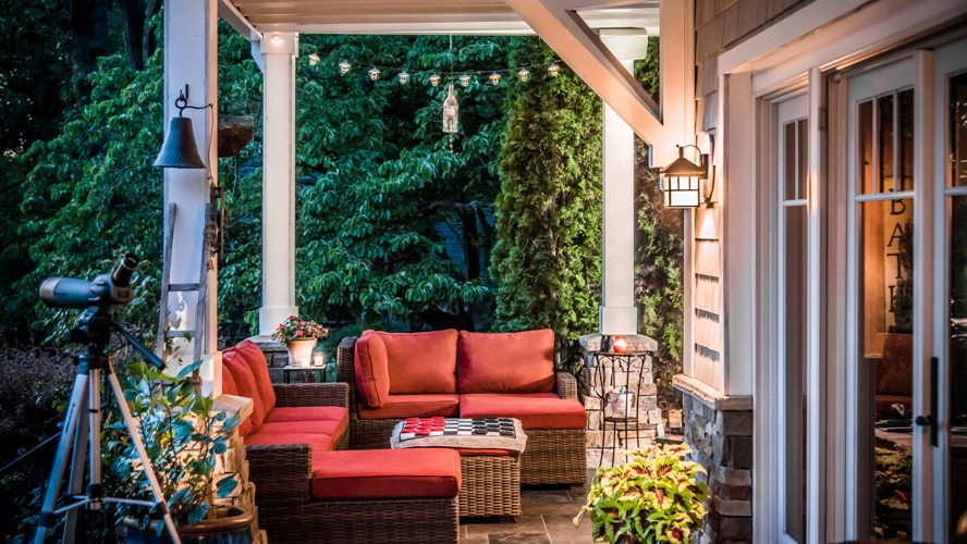 Westchester patio outdoor room designer architect contractor