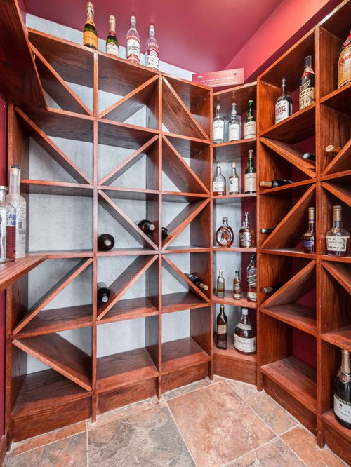Custom design basement wine cellar architect builder contractor